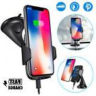 Fast Qi Wireless Car Charger Dashboard Mount Holder for Sams