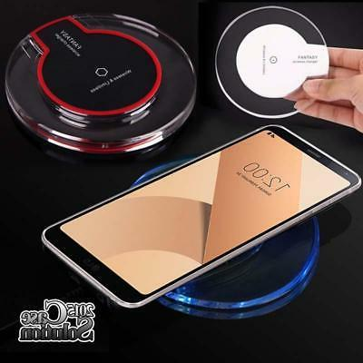 fast qi wireless charger charging pad dock