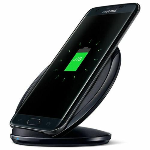 Fast Qi Charging Pad Stand Dock for S7 Edge