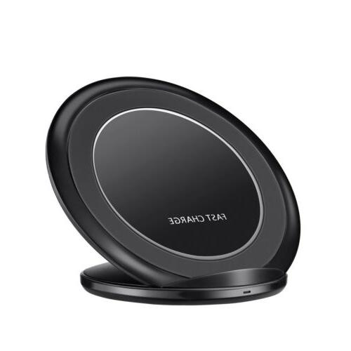 Fast Qi Wireless Charger Charging Pad Stand for S8 S7