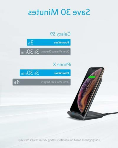 Anker Fast Wireless Charger, 10W Qi Wireless