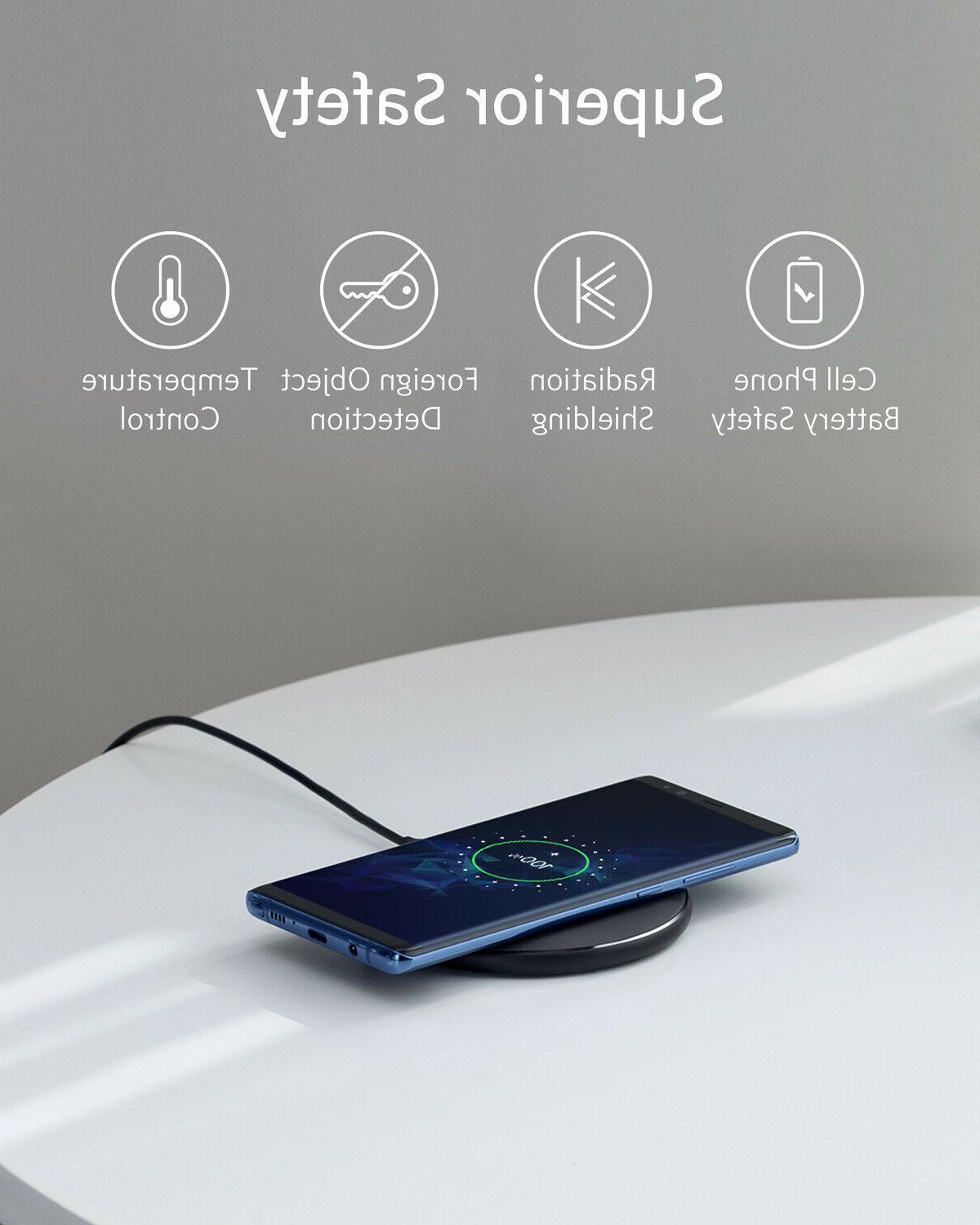 Anker Wireless Charger Pad Pro Fast-Charging for