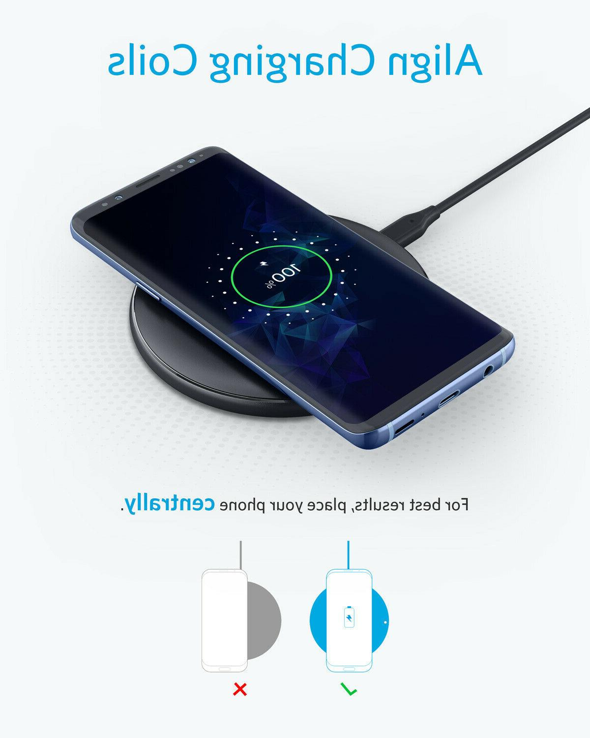 Qi Wireless Charger Charging for 11 Pro