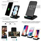 PLESON Fast Wireless Charger, Cell QI Charging Pad Stand for