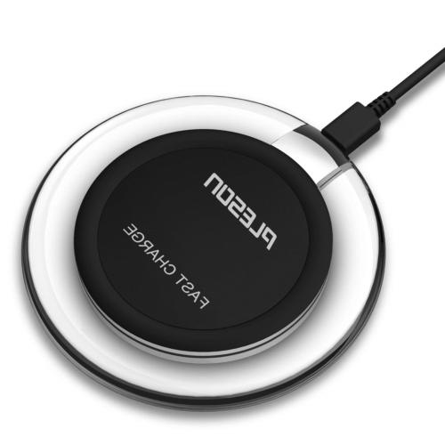 PLESON Fast Wireless Charger, Fast Charge QI Wireless Chargi