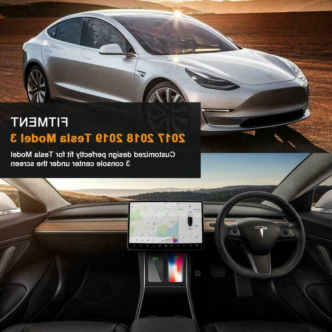 Fast Charger Tesla 3 Console Phones
