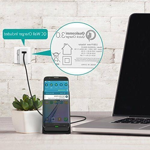 Fast Wireless Charger With Quick For Plus LG G6
