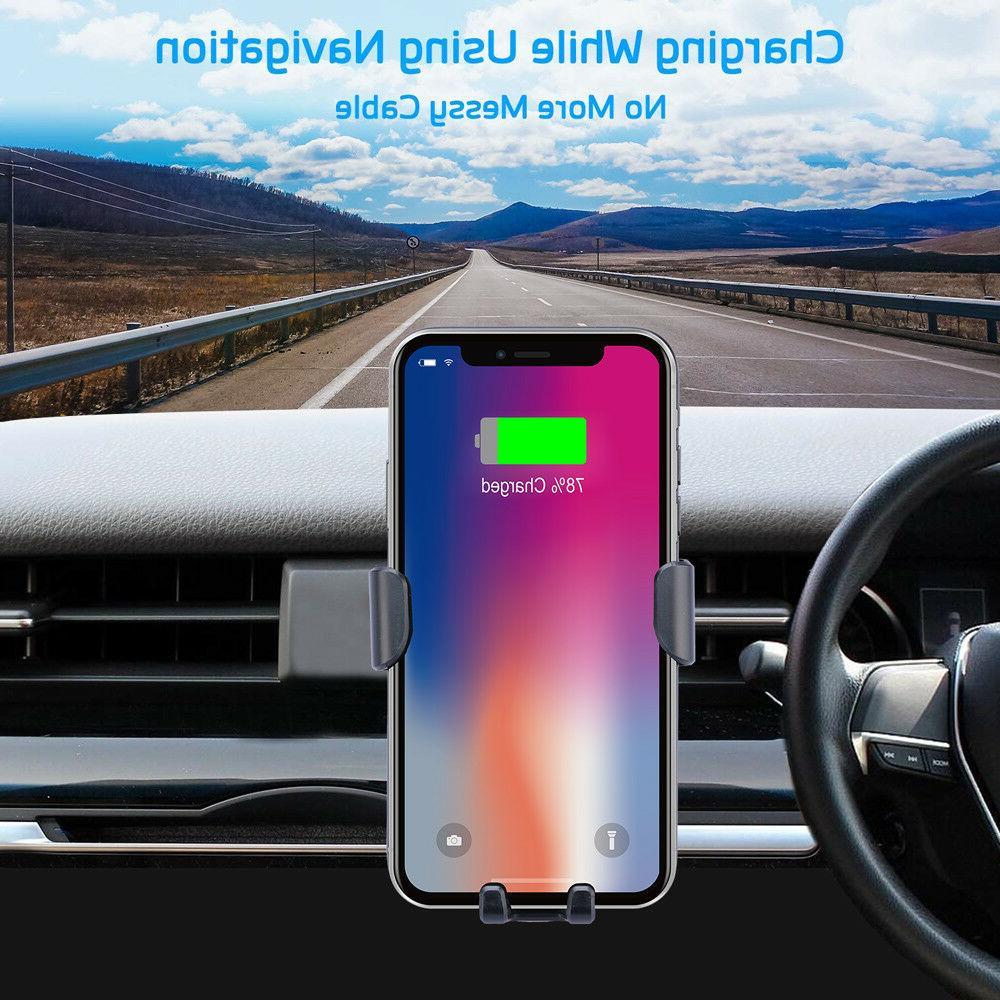 Fast Wireless Chargers QI Car Mount - Gift