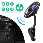 FM Transmitter Handsfree Car Kit Wireless Bluetooth LCD MP3