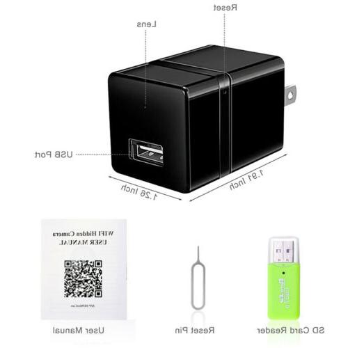 Hidden WiFi 1080P HD USB Charger