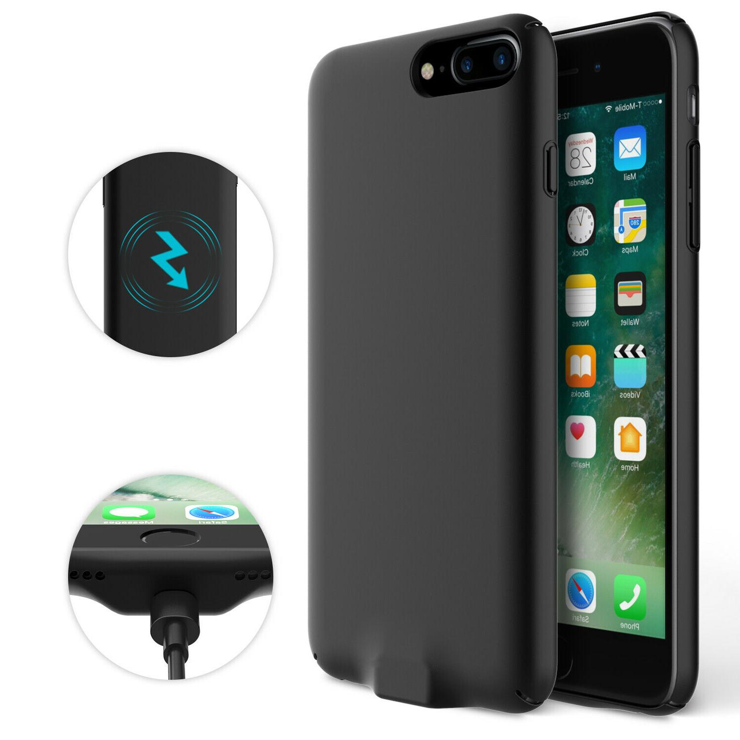 For iPhone 6 7 Plus QI Wireless Charger Power Case Charging