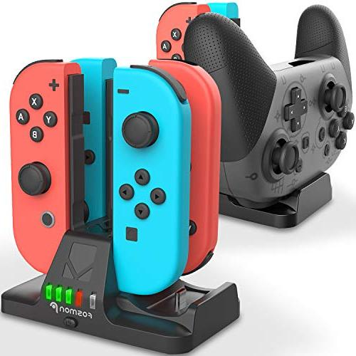 joy con and pro controller charging dock