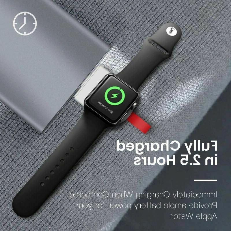 Magnetic Wireless Adapter For Watch iWatch 1/2/3/4