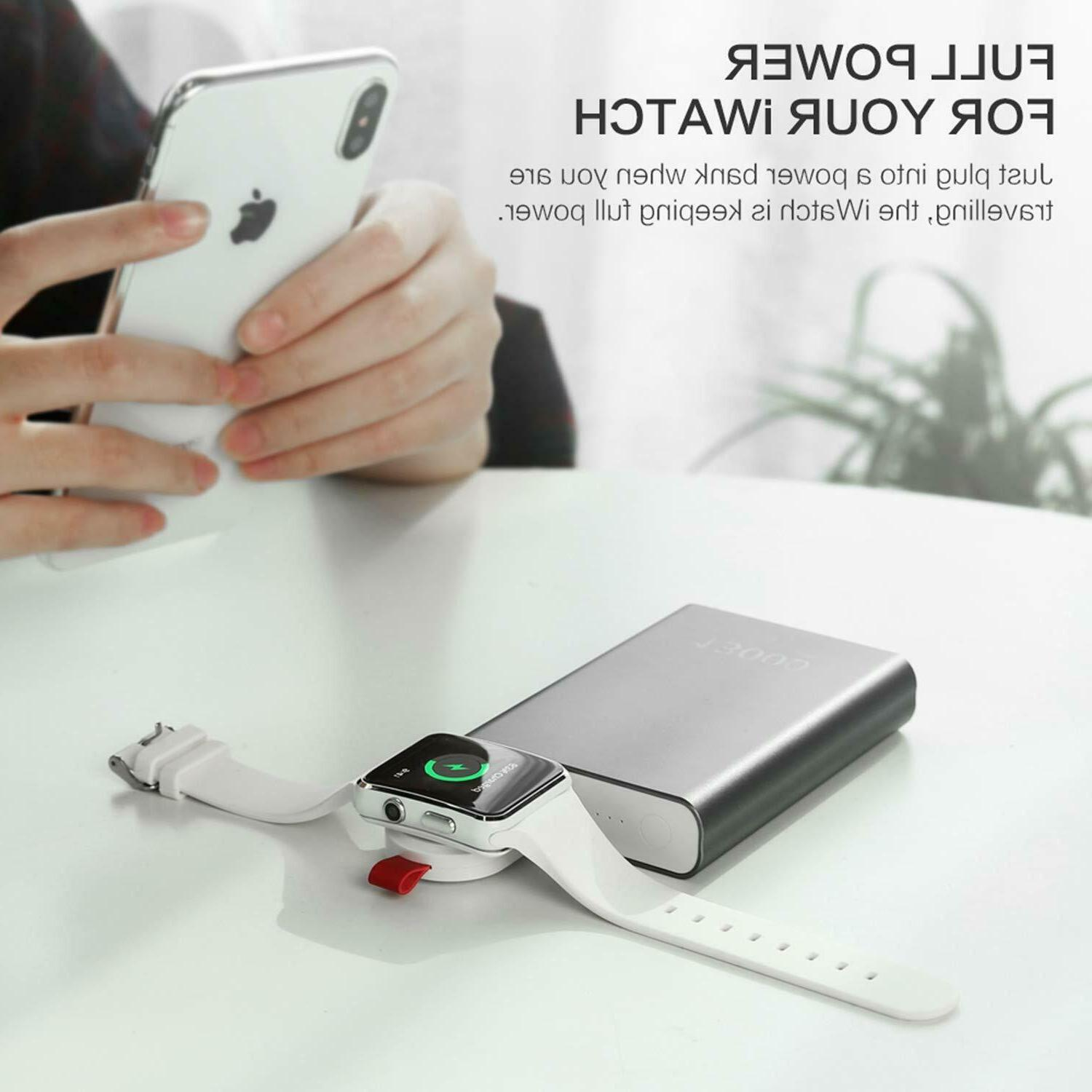 Magnetic Charger Adapter Watch iWatch 1/2/3/4