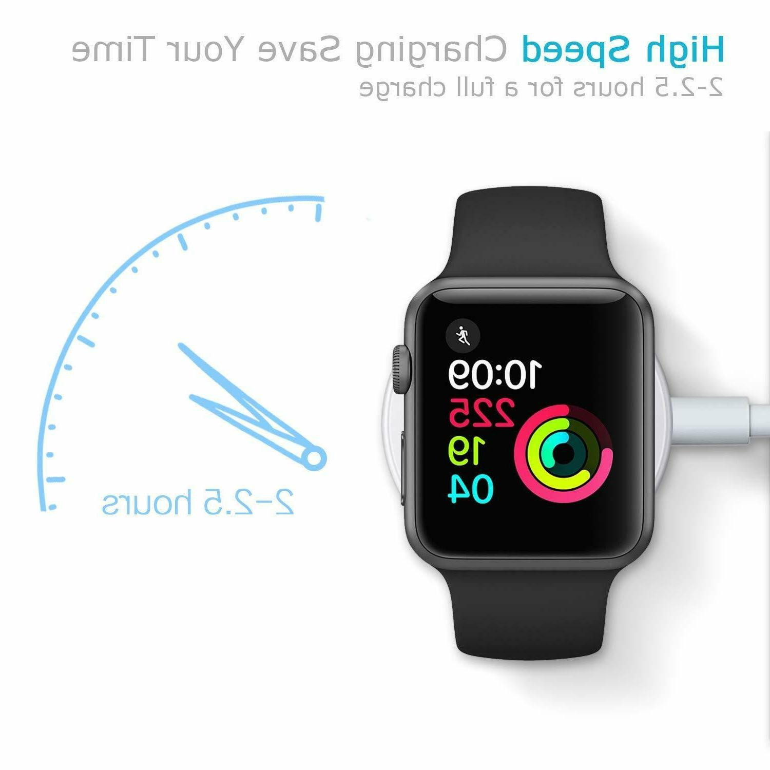 Magnetic Charger Charging Dock For Watch iWatch