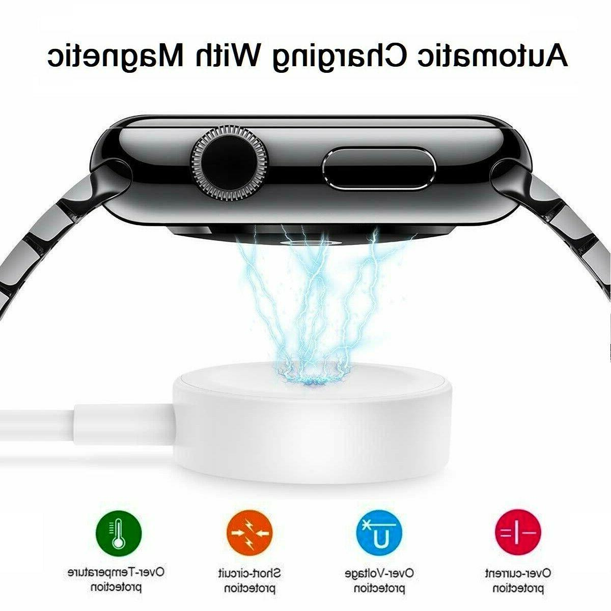 For Apple Watch iWatch Series 1 4 Magnetic Dock USB Cable