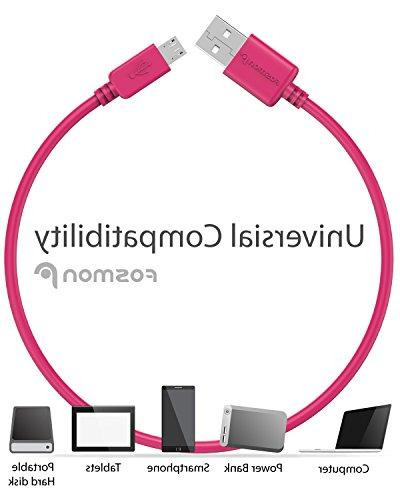 Fosmon Micro USB Ultra Durable Cable S7 / Moto G/X/V, Nokia Series and