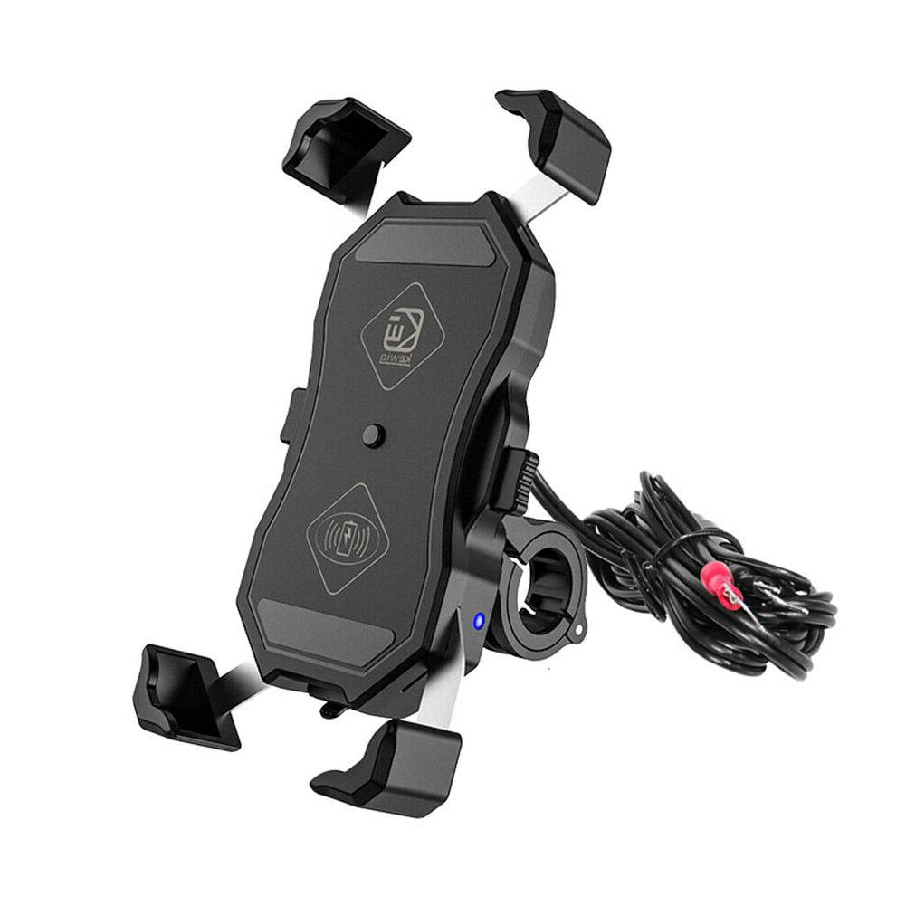 Motorcycle Holder USB Charger GPS Mount