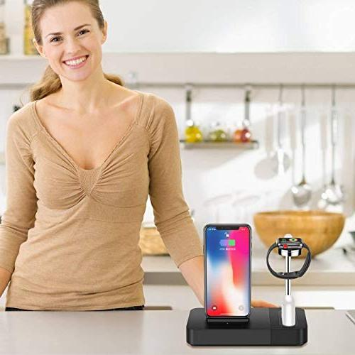 TGHUANG Compatible iPhone Wireless Watch Charger One-Stop Charging