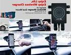 New 2016! Qi Wireless Car Charger  Holder for iPhone X, Sams