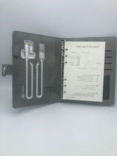 Qi Charging Book Binder