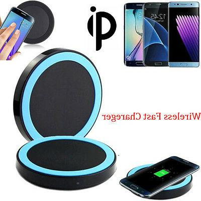Outdoor Protable Fast Qi Wireless Charger Charging Pad For S