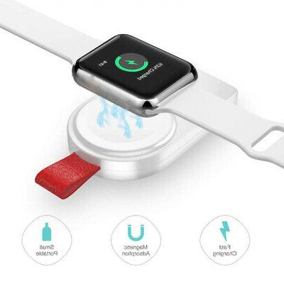 portable wireless charger iwatch charging dock stand