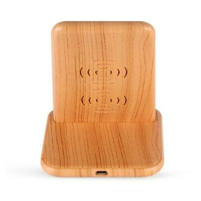 Practical Durable Wooden Intelligent Temperature Charger