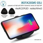 Q10 Qi Wireless Charging Mat Charger Pad For iPhone X 8/LG/G