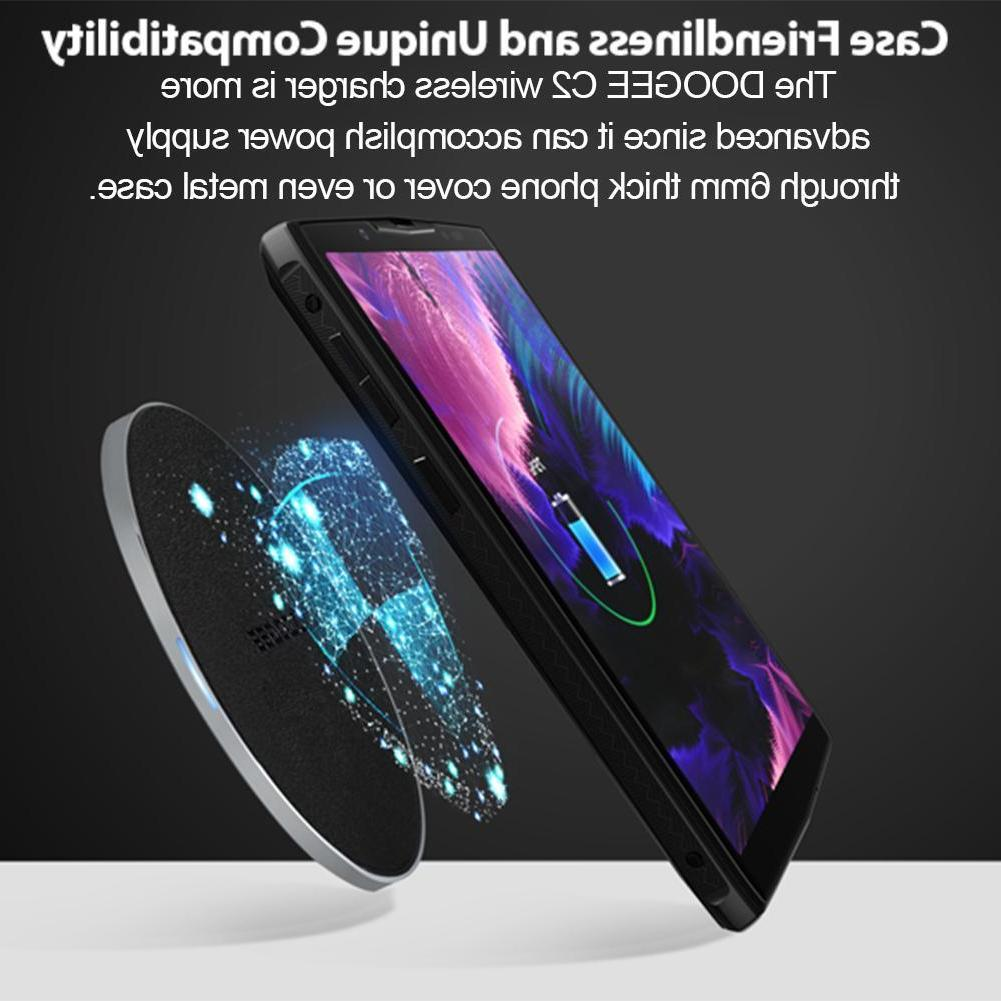 Wireless Charger Pad Holder for DOOGEE BL9000 S60 Lite iPhon