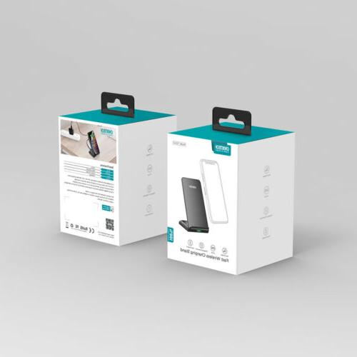 qi fast wireless charger stand dock