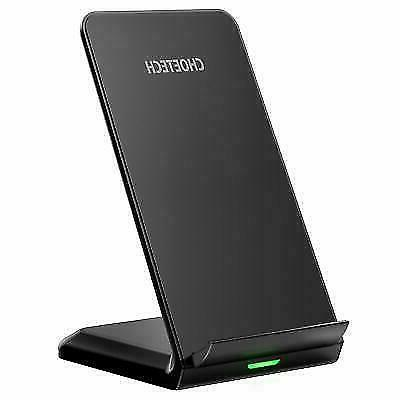qi fast wireless charger stand t524s