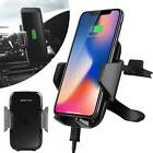 Qi Wireless Car Charger Air Vent Holder Mount for Samsung No