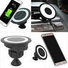Qi Wireless Car Charger Dock Charging Pad for Samsung S8 S7
