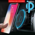 Qi Wireless Car Charger Magnetic Air Vent Mount Holder For S