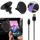 Qi Wireless Car Charger Magnetic Mount Holder For iPhone X 8
