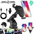 qi wireless car fast charger holder mount