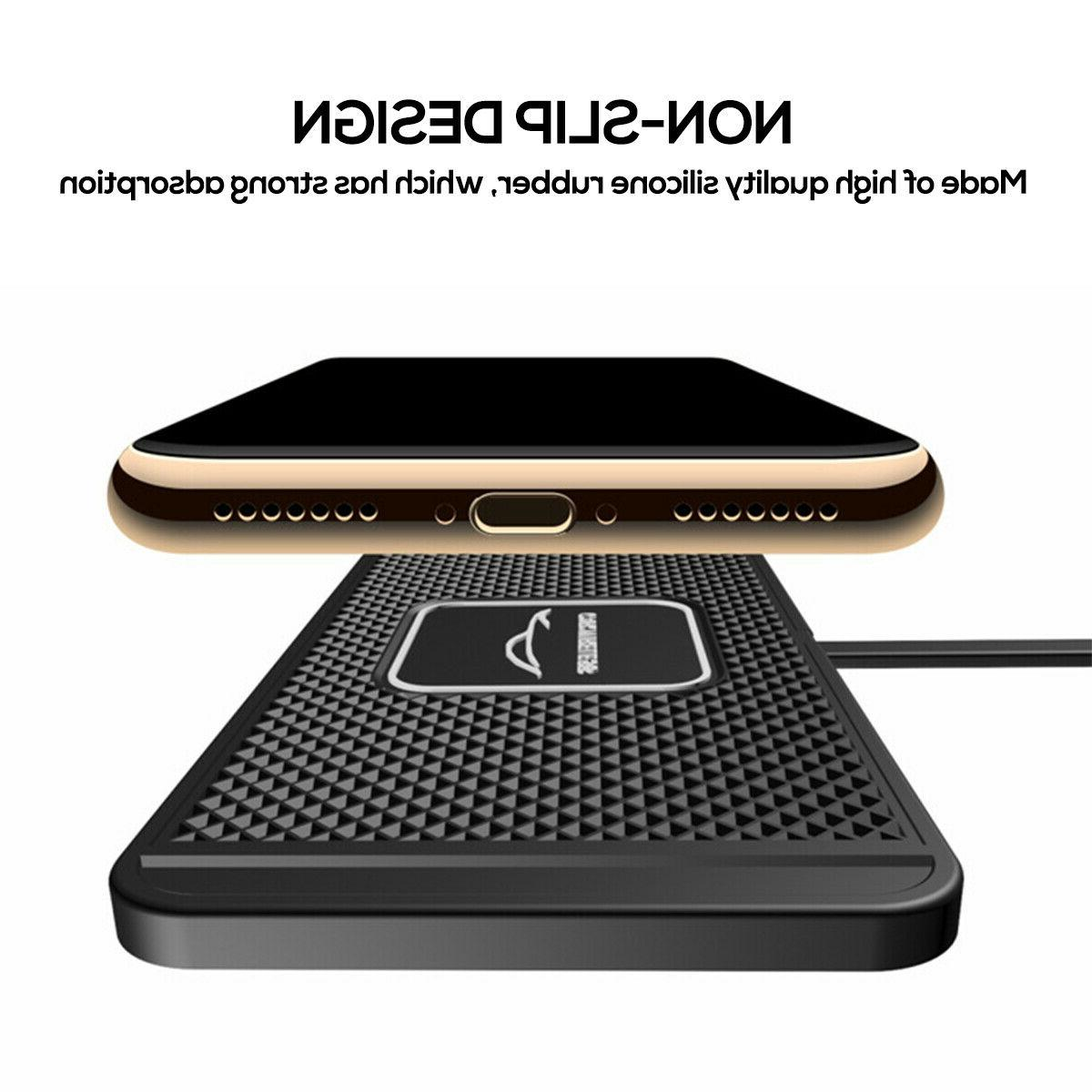 Qi Wireless Phone Charger Fast Non-Slip X 11 Pro