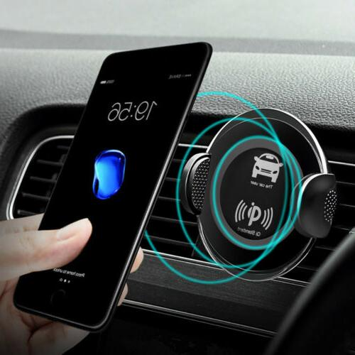US FDGAO Qi Wireless Car Charger Charging Phone Mount Holder