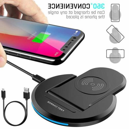 Qi Wireless Charger Charging For X Samsung S10+