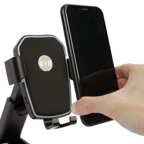 Qi Wireless Car Charging For Samsung Note S8 iPhone