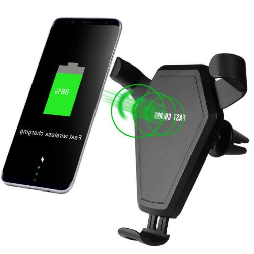 Qi Charger Charging Mount For iPhone Pro Max