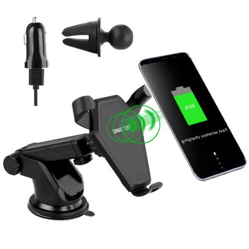 Qi Car Charging Mount Holder For Max 8Plus