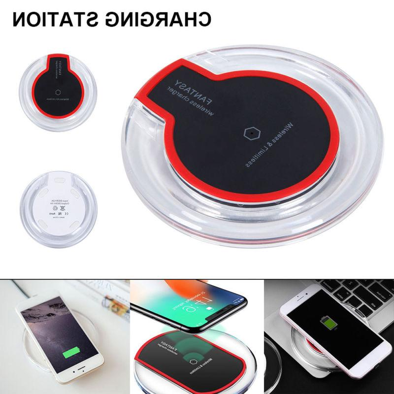 qi wireless charger charging pad dock station