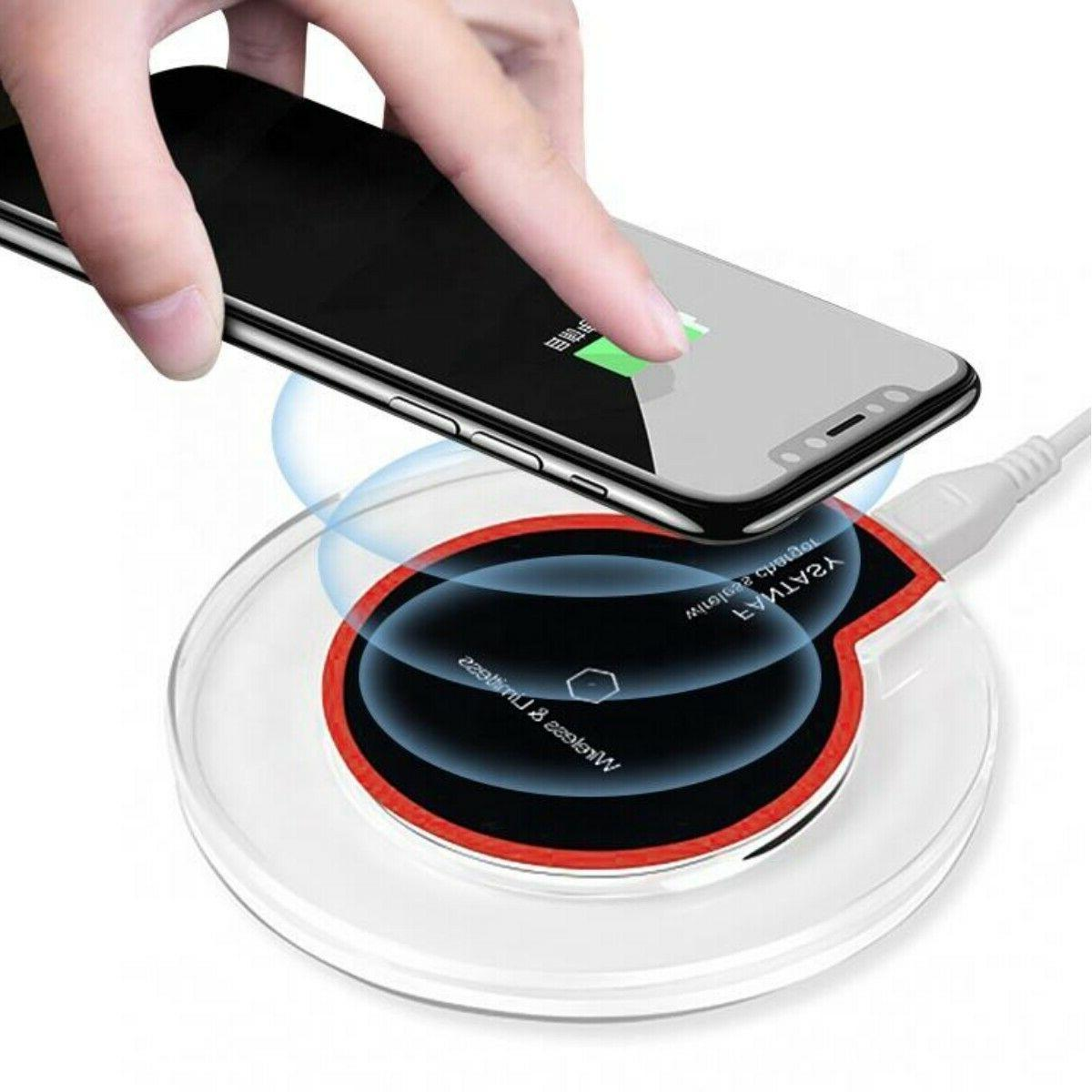 Qi Wireless Charger Charging Pad Note 9/10/S10