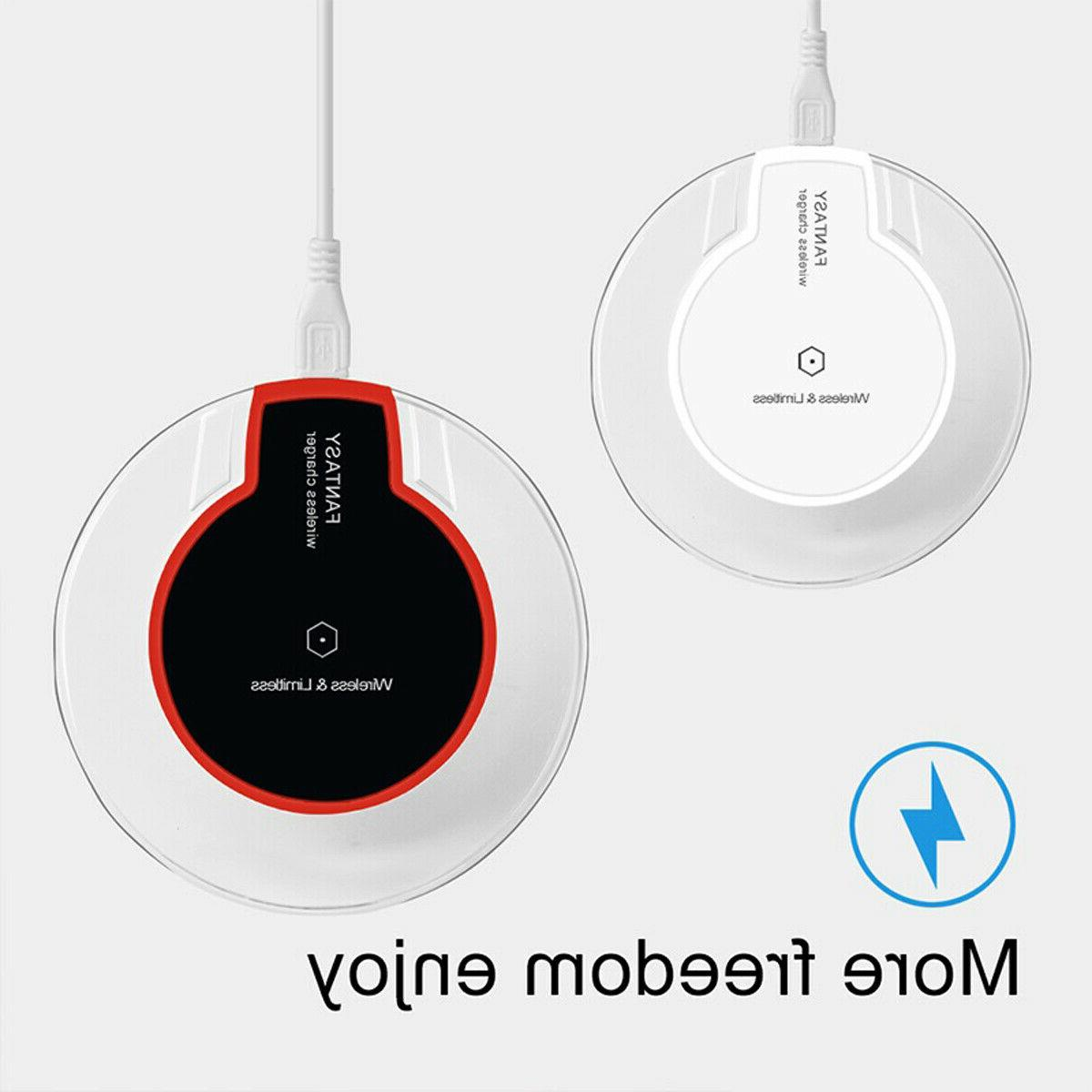 Qi Charging Pad for iPhone 11/Pro/Max/XS/8/Galaxy Note