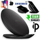 Qi Wireless Charger Fast Charge Foldable Pad Stand For iPhon