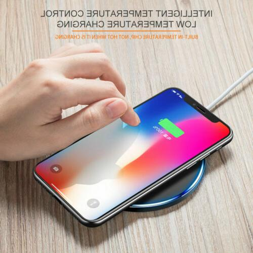 Qi Wireless Charger Fast Charging Pad For Samsung Galaxy S6