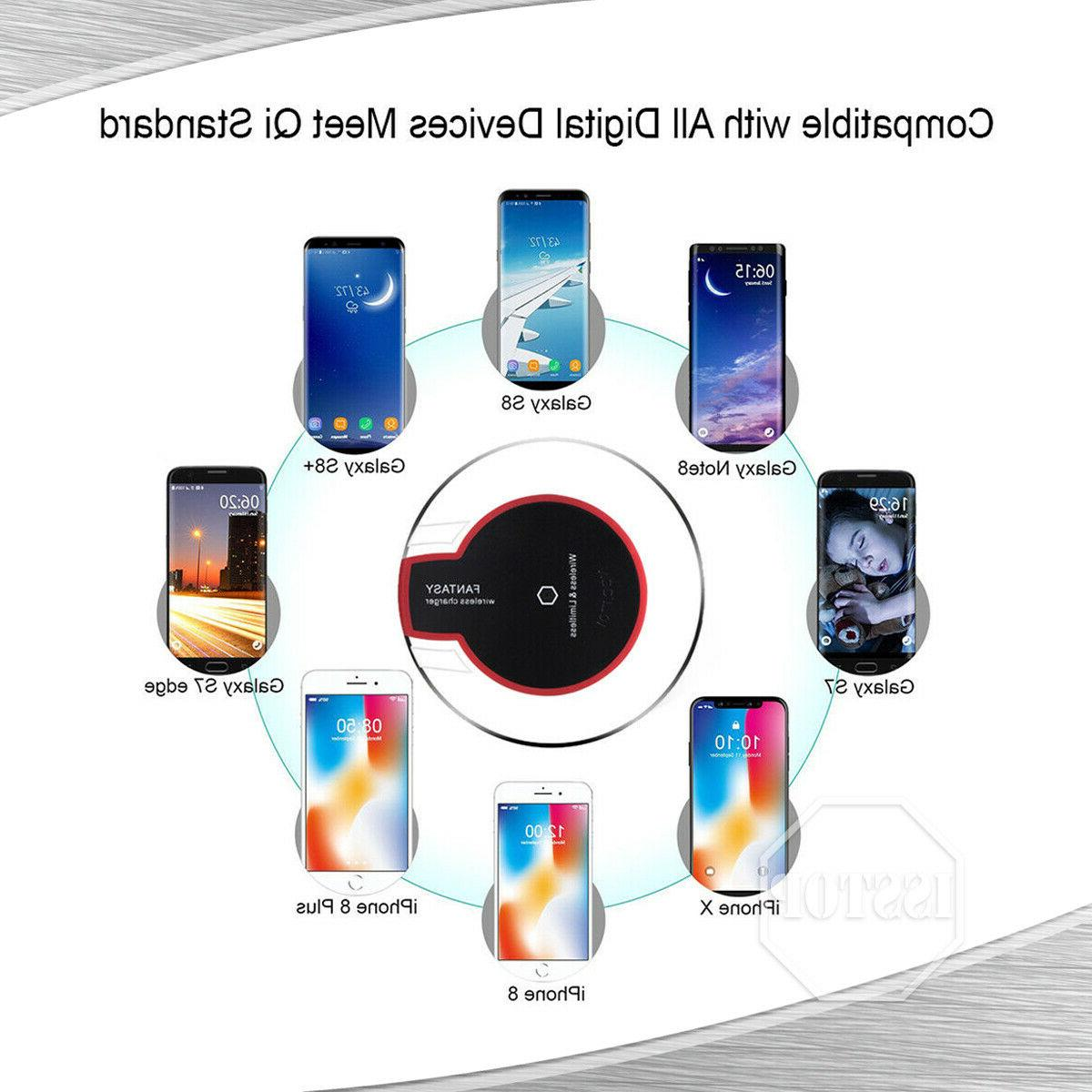 Qi Charger Fast Charging 8 XR Samsung S8