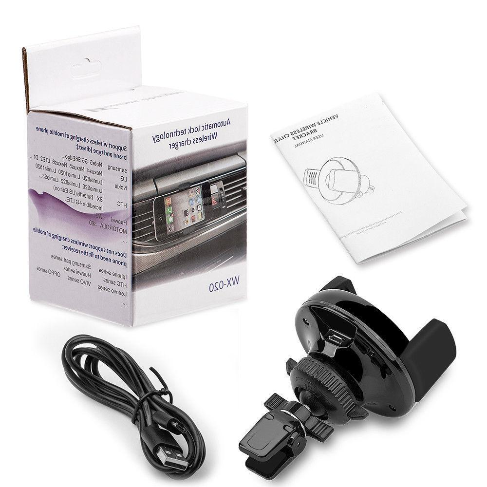 Qi Charger Car Dock For Smart Charging US